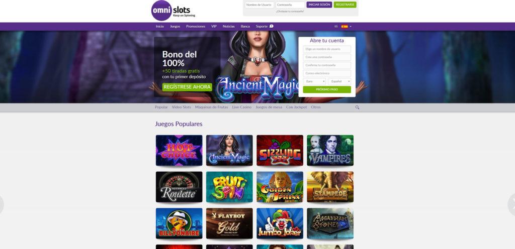 Omni Slots Opiniones Bono Codigo Promocional Casino Online Mexico